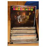 Small batch of Records incl. Jimi Hendrix