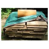 (2) Stacks of misc. lumber- left over form building the house and barn