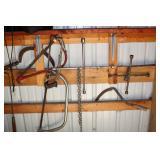 hand saws , 4 ways, etc.