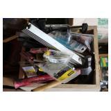 Hammers, nails, screws, etc.
