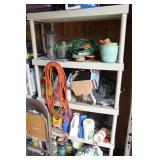 Misc. garage supplies incl. chemicals, extension cords, etc.