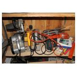 Power tools incl. circular saws, sanders, etc.