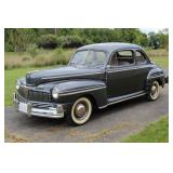1947 Mercury Eight Series 79M 2 door Coupe