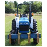 4 Wheel Drive Compact Tractor