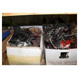 Boxes and Boxes of used car parts