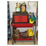 Rolling tool cart, tool chest, etc.