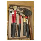 Hammers- Ball peen, rubber mallets, etc.