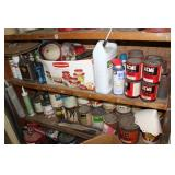 Paint, oil, lubricants, etc.