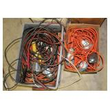 Electrical cords, lights, etc.