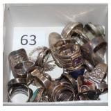 #63 Sterling Rings