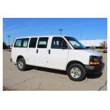 #1036 2008 GMC Savana Work Van