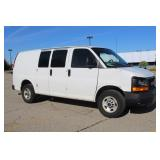 #1548 2010 GMC Savana Work Van - 35K miles