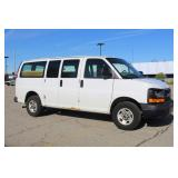#1549  2008 GMC Savana Work Van w/ 25,107 Miles