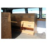 #1549 inside view - wood drawers