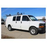 #1257 2013 GMC Savana Work Van w/ 18,006 Miles