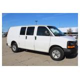 #1357 2013 GMC Savana Work Van w/ 27,721 Miles
