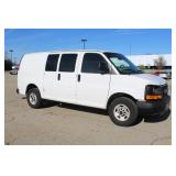#1309 2013 GMC Savana Work Van w/ 6,415 Miles