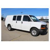 #1044 2013 GMC Savana Work Van - 12.5K miles