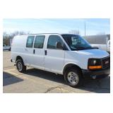 #1193 2013 GMC Savana Work Van w/ 14,193 Miles