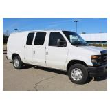 #1418 2012 Ford E-150 Work Van - 61k miles
