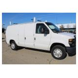 #1393 2013 Ford E-150 Work Van - 8k miles