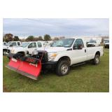 #1314 2012 Ford F-250 4x4 Pick-up w/ Boss plow