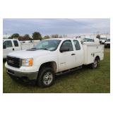 #1097 2011 GMC Sierra Utility Truck 27.7 miles