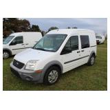 #1072 2012 Ford Transit Connect Cargo - 20K miles