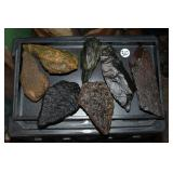 #360 Lot of larger Indian Head Stones