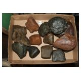 #370 Nice lot of Indian Axe Heads