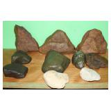 #375 Large lot of Indian Stones incl. Hand Axes & Axes #1