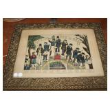#257C Currier and Ives Life & Age of Man 1850