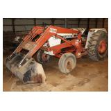 995 David Brown Case Tractor w/ Case 60 Front End Loader  4316 hours