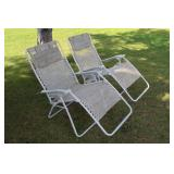 (2) Reclining chairs
