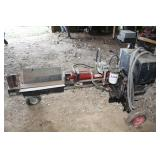 Northern log splitter mod 1172 - electric - 220