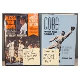 """#400 (2) signed Tiger books """"Bless You Boys"""" by 1984 championship team (23) incl. Sparky Anderson,"""