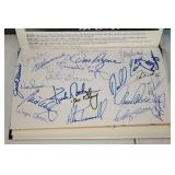 """A. Lopez, K Gibson, Morris, Trammell, Bergman ETC. & """"Cobb Would Have Caught It"""" signed by (38)"""
