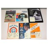 """#401 (6) Tiger books """"This Date in Deroit Tigers History"""" signed by (36) incl."""
