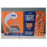 #404 (2) Tiger Yearbooks 1960 signed by (7) incl.