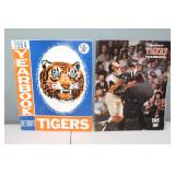 #405(2) Tiger Yearbooks 1964 signed by (12) incl.