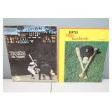 #406 (2) Tiger Yearbooks 1966 signed by (13) incl. Mclain, Northrup, Hiller, Kaline, ETC