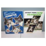 #409  (2) Tiger Yearbooks 1977 signed by (15) incl.
