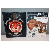 #411 (2) Tiger Yearbooks 1985 signed by (22) incl.