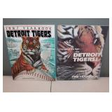 #412 (2) Tiger Yearbooks 1987 signed by (13) incl.