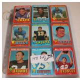 #442 1971 Topps Football complete set