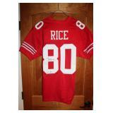 #448 Jerry Rice signed Jersey w/ Beckett COA