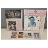 #455 Norm Cash lot - signed Magazine, RC 63, Post Card, 73 signed, & rare book cover