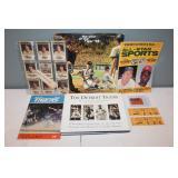 #457 Tiger Lot w/ 1968 Newspaper Cards, Mag, Program 1972,