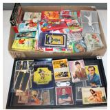 #467 Fun group of non sport - incl. Disney Bread Label set, Bob Hope, Red Buttons, ETC.