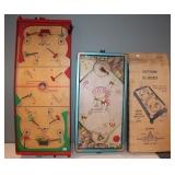 #485 (2) Hockey games - rare Gotham Elec w/ players & box